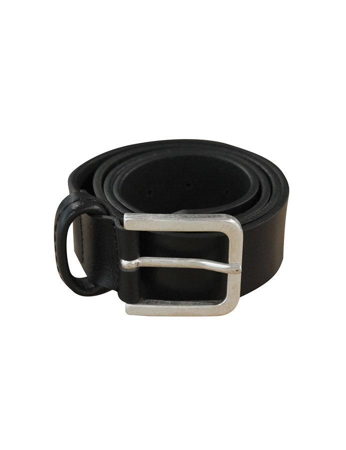 Opasek - Timberland Stitched Loop Black Velikost: JEDNOTNÁ VELIKOST