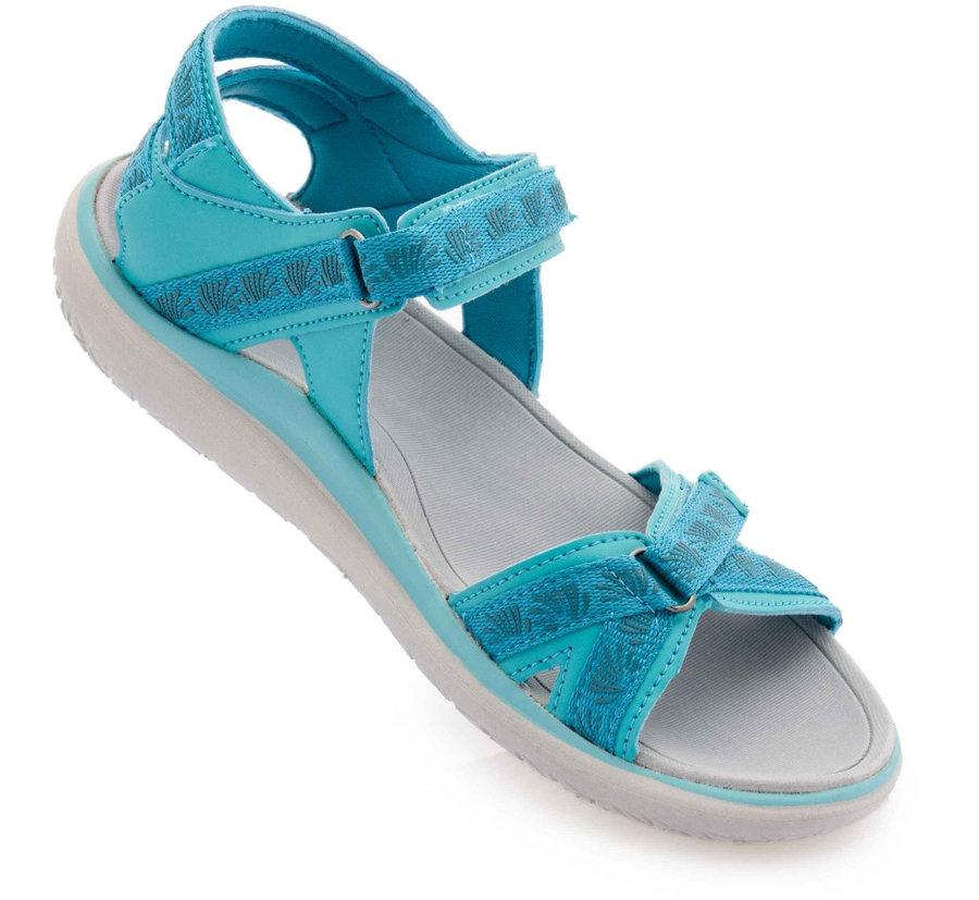 Modré dámské sandály Alpine Pro