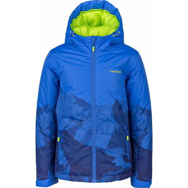 Modrá chlapecká lyžařská bunda Head