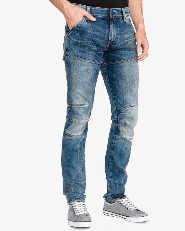 Modré pánské džíny G-Star RAW