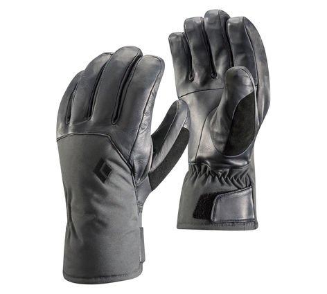 Černé dámské lyžařské rukavice Black Diamond