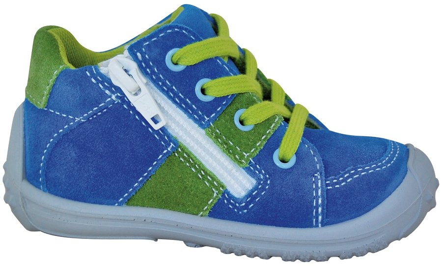 Modro-zelené chlapecké tenisky Protetika
