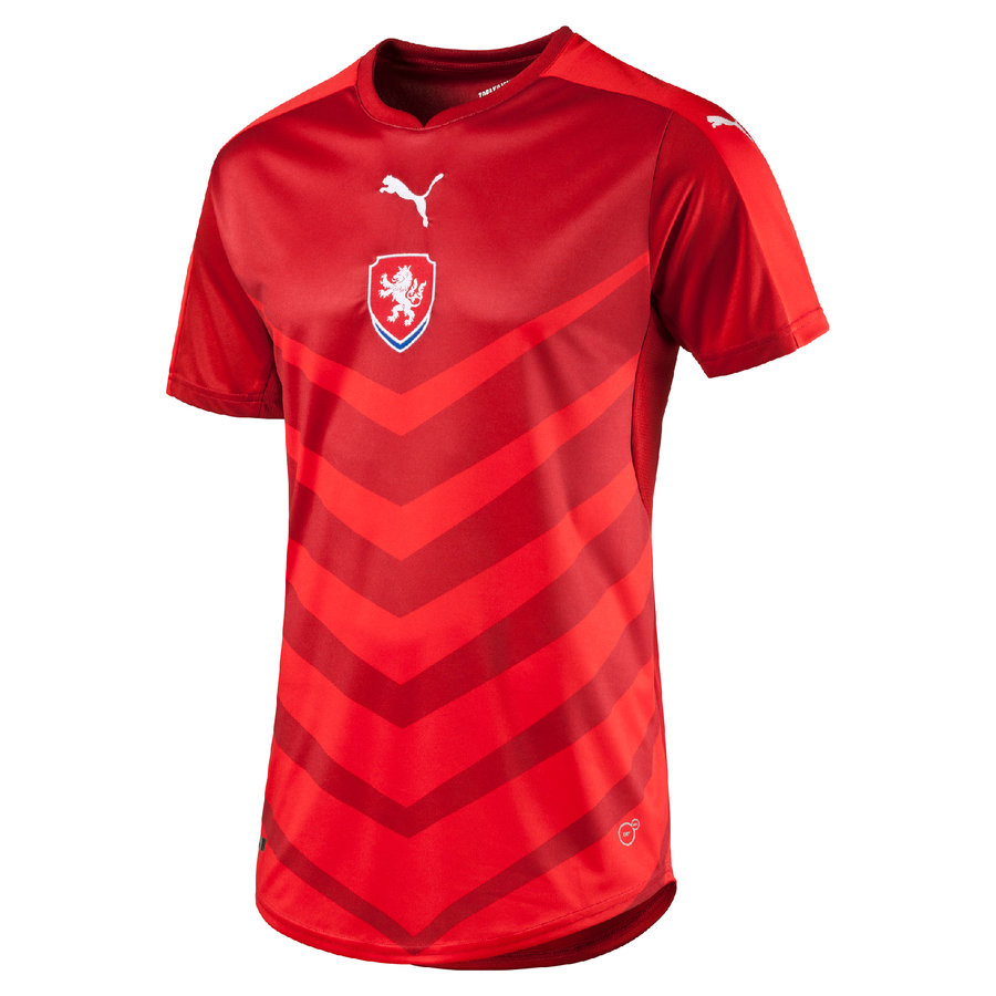 """Červený fotbalový dres """"Česká reprezentace"""", Puma"""