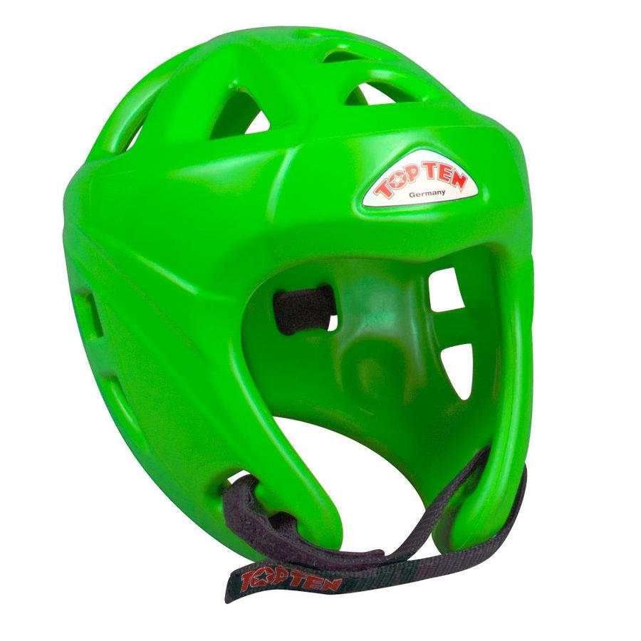 Zelená boxerská přilba Top Ten