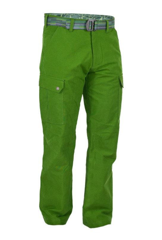 Zelené pánské kalhoty Warmpeace