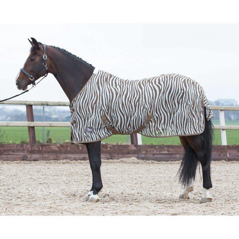 Deka na koně - Harry´s Horse Deka síťovaná Zebra Velikost dek: 125