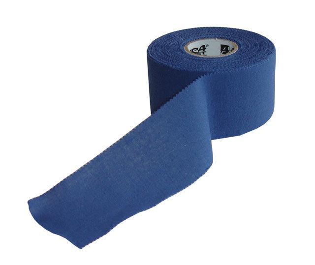 Modrá tejpovací páska Acra - délka 13,7 m a šířka 3,8 cm
