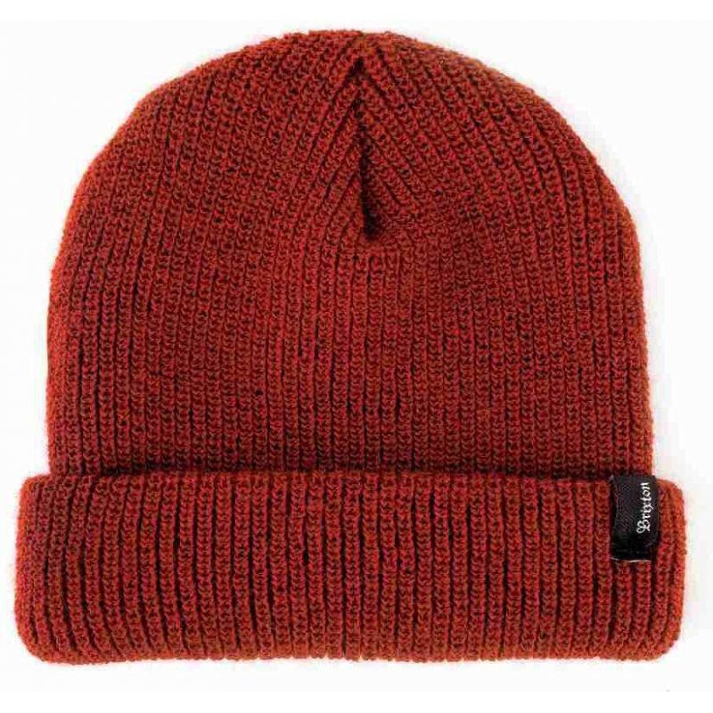 Červená zimní čepice Brixton - univerzální velikost