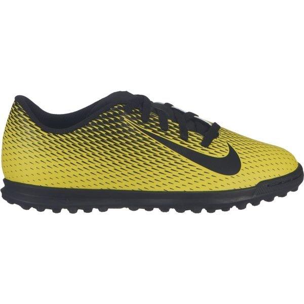 Černo-žluté dětské kopačky turfy Nike