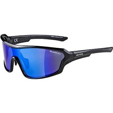 Černo-modré polarizační cyklistické brýle Alpina