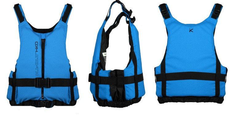 Modrá plovací vesta Hiko - velikost L-XL