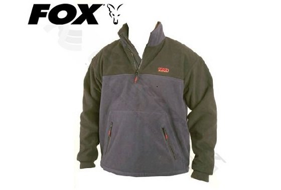 Šedá pánská rybářská mikina Fox International