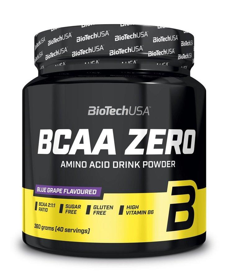 BCAA - BCAA Zero - Biotech USA 360 g Modré hrozno