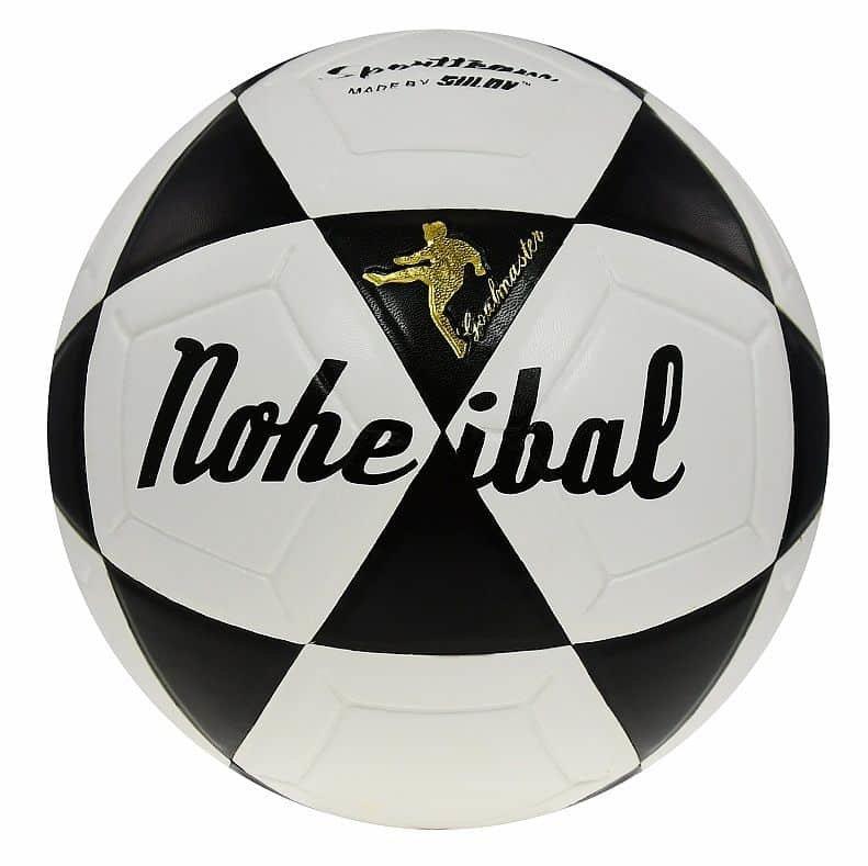 Bílo-černý nohejbalový míč Rulyt - velikost 5