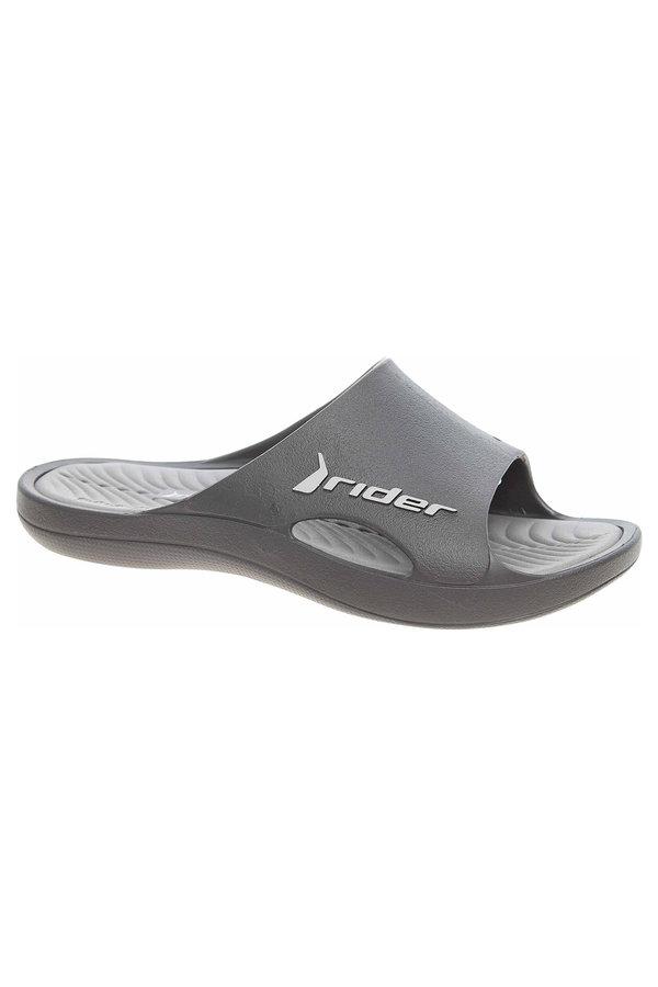 Černé pánské pantofle Rider - velikost 44 EU