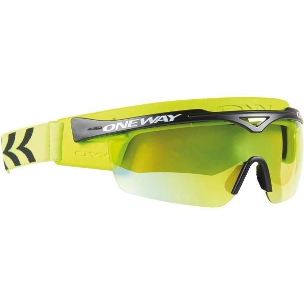 Zelené brýle na běžky One Way