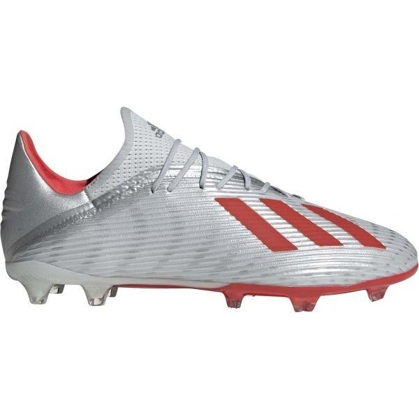 Stříbrné pánské kopačky Adidas