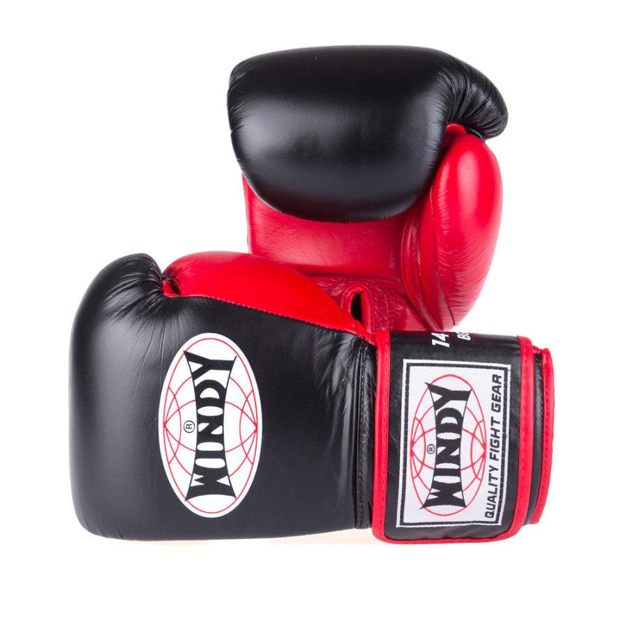 Černé boxerské rukavice WINDY - velikost 12 oz