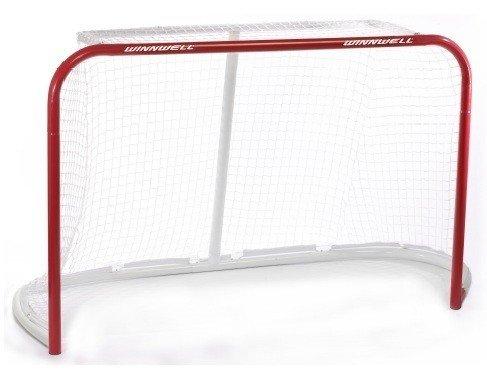 Kovová hokejová branka Quik Net, Winnwell - šířka 183 cm, výška 122 cm a hloubka 68 cm