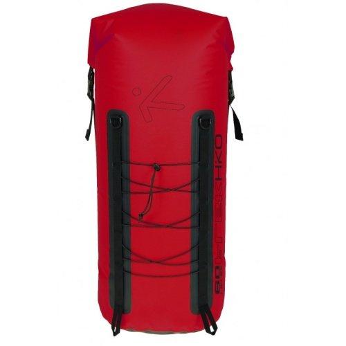 Červený vodácký batoh Trek, Hiko - objem 80 l