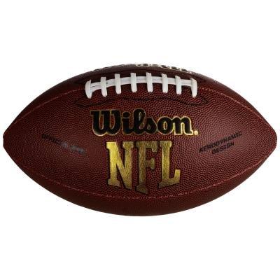 Hnědý míč na americký fotbal NFL Force Official, Wilson