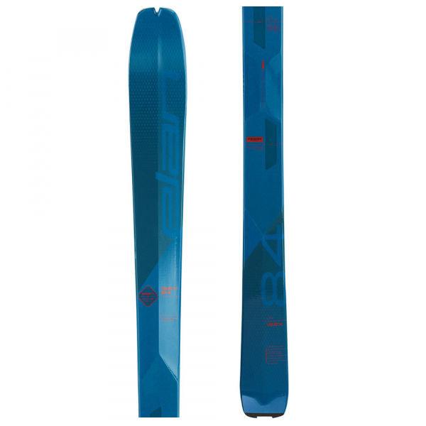 Modré pánské skialpové lyže bez vázání Elan - délka 170 cm