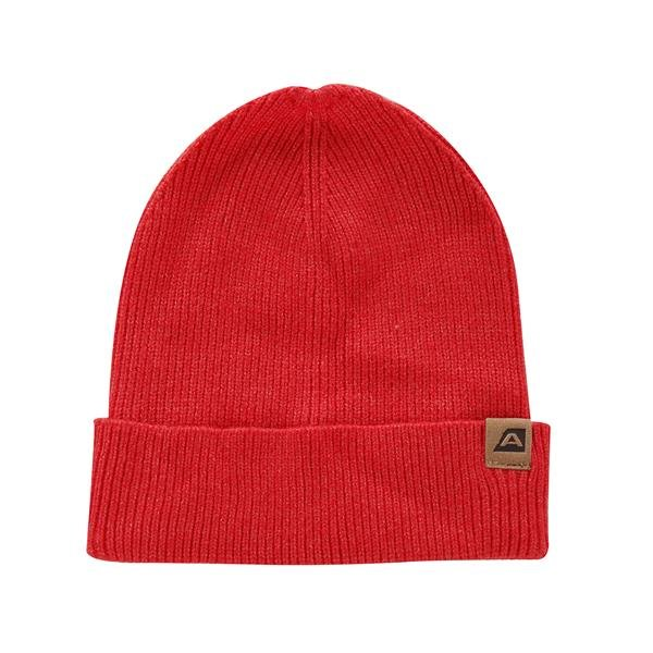 Červená zimní čepice Alpine Pro