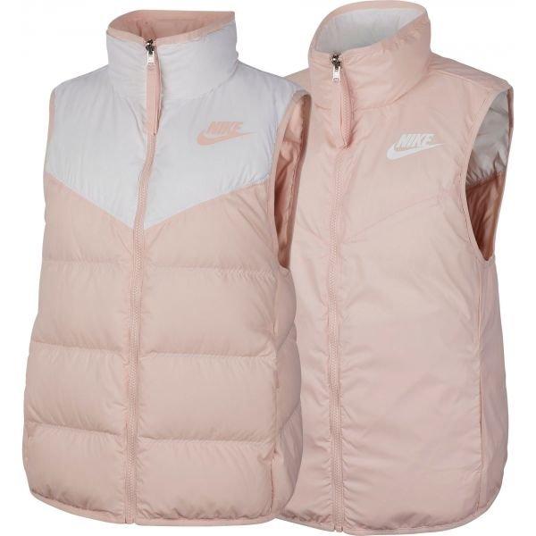 Růžová dámská vesta Nike