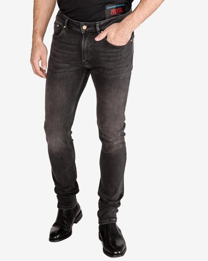 Černé pánské džíny Versace Jeans