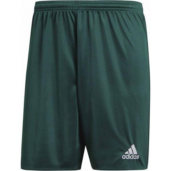 Zelené pánské fotbalové kraťasy Adidas