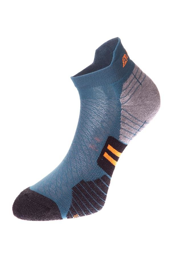 Modré kotníkové ponožky Alpine Pro - velikost S