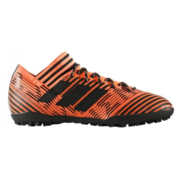 Černo-oranžové pánské kopačky turfy Adidas
