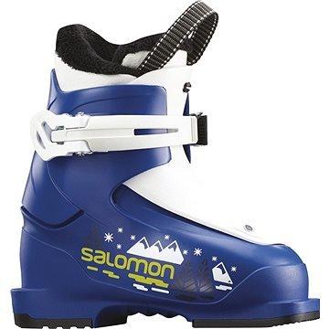 Modré dětské lyžařské boty Salomon - velikost vnitřní stélky 17 cm