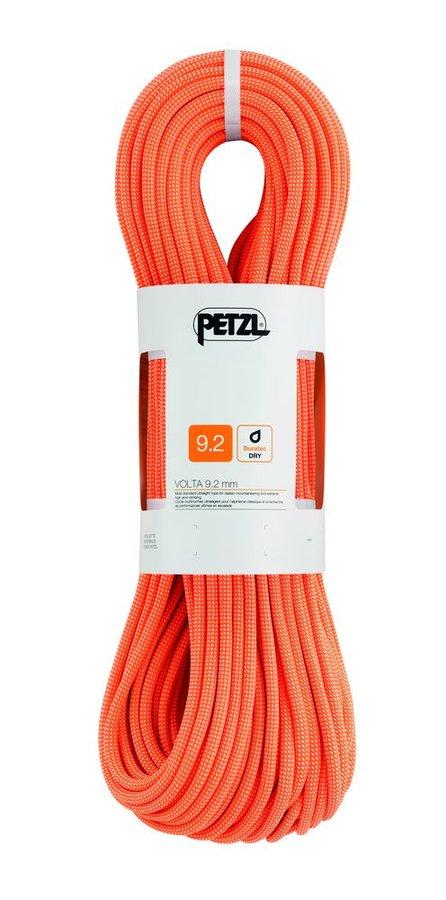 Lano Volta, Petzl - průměr 9,2 mm a délka 60 m