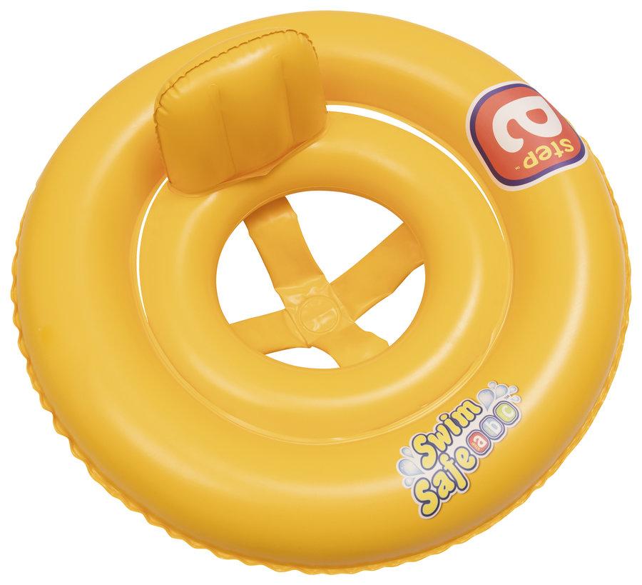 Žlutý dětský nafukovací kruh Bestway