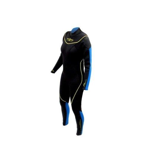 Černo-modrý dlouhý dámský neoprenový oblek Fullsuit, Aqualung