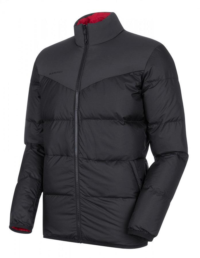 Černá zimní pánská bunda Mammut