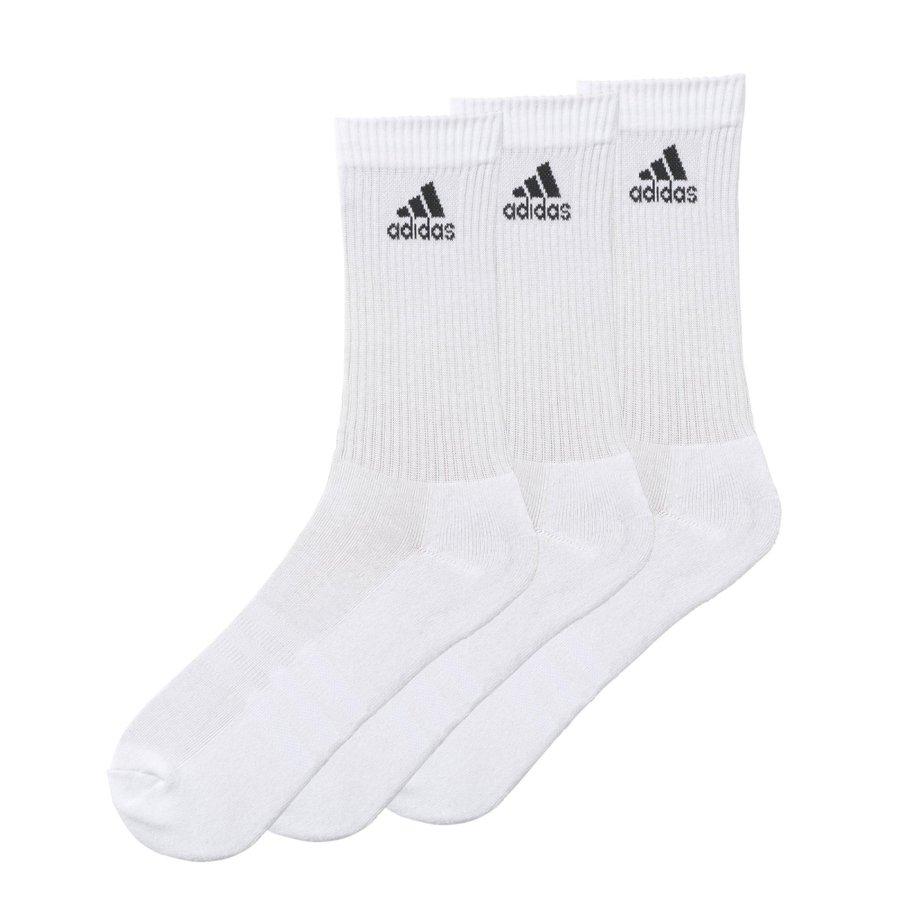 Bílé pánské ponožky Adidas - velikost 27-30 EU