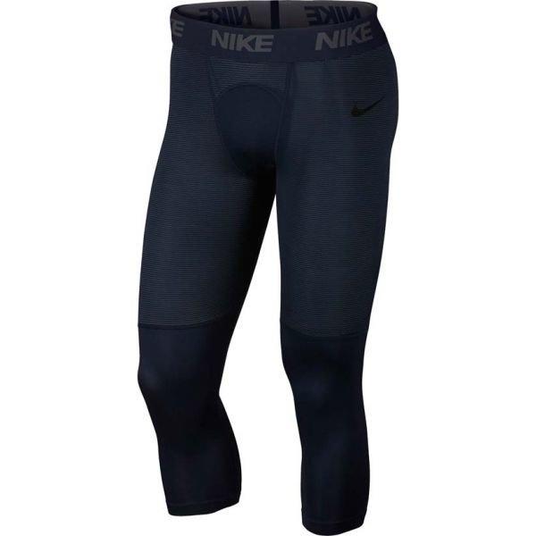 Modré pánské legíny Nike - velikost XL