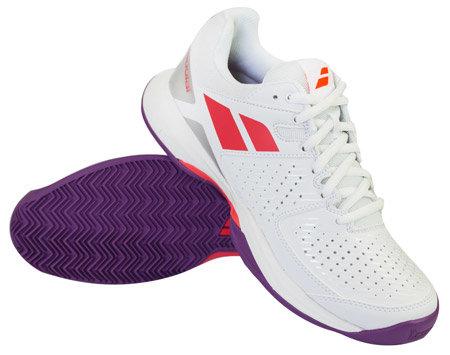 Bílá dámská tenisová obuv Pulsion, Babolat - velikost 36,5 EU
