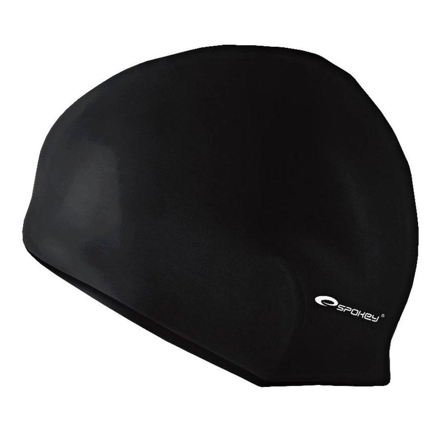 Černá pánská nebo dámská plavecká čepice SUMMER, Spokey