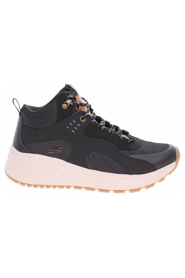 Černé dámské zimní boty Skechers