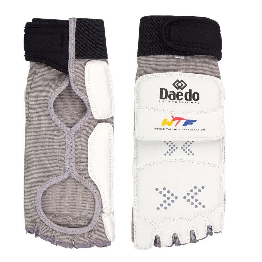 Chrániče - Elektronický chránič nohou Daedo GEN1 - bílá - velikost S