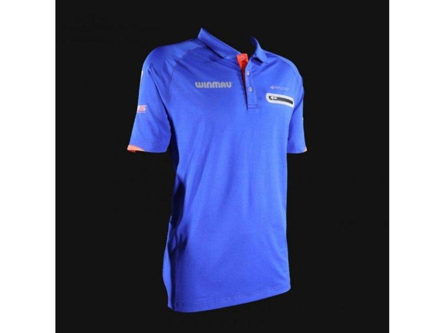 Modrý šipkařský dres Winmau - velikost XL