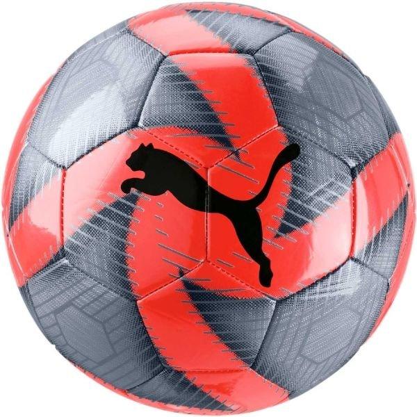 Červeno-šedý fotbalový míč Puma