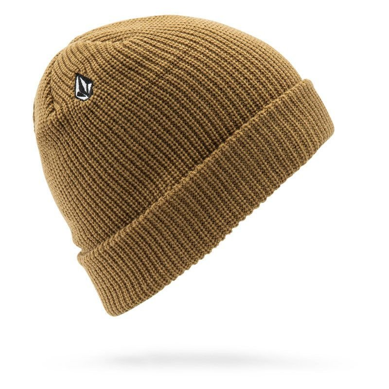 Béžová zimní čepice Volcom - univerzální velikost
