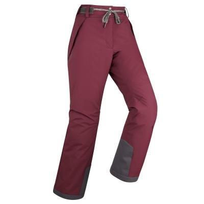 Červené dámské snowboardové kalhoty Wed'ze
