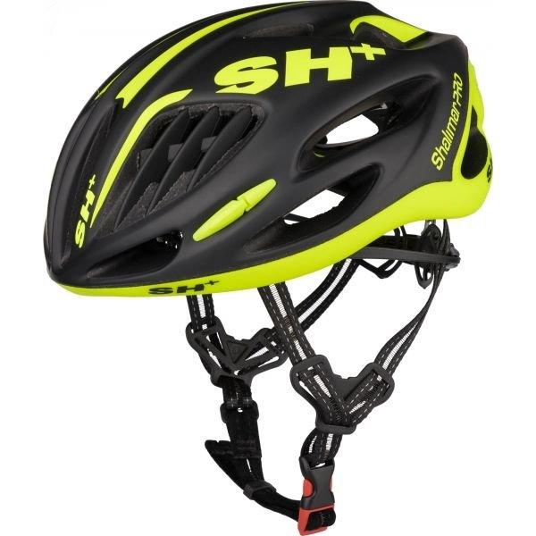 Černo-žlutá cyklistická helma Limar