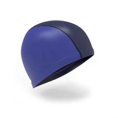 Modrá pánská nebo dámská plavecká čepice Nabaiji