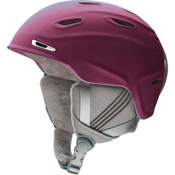 Fialová dámská lyžařská helma Smith - velikost 51-55 cm